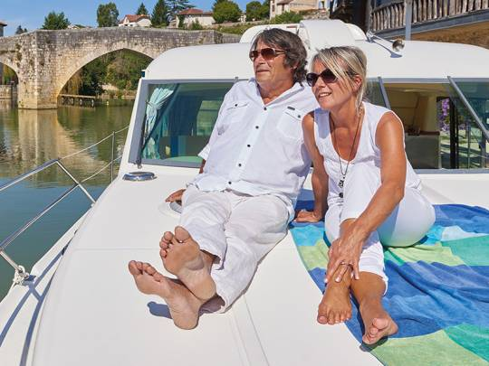 Happiness on the waterways - Boating Holidays in Europe
