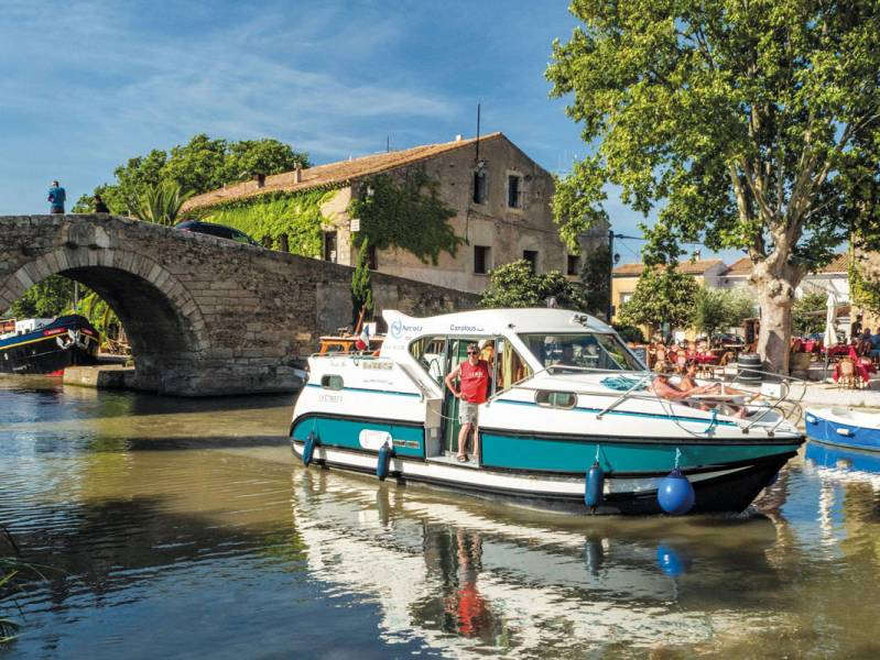 Weekend 2 days : A Roman escape by canal boat  - from 363 euros